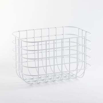 Storage basket SENSEA Scandi white