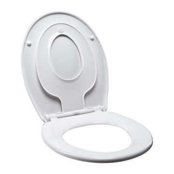 Toilet seat family with baby seat combined Sensea white