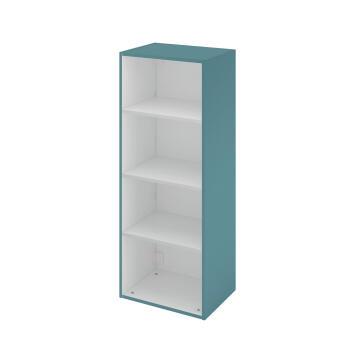 Half column cabinet SENSEA Remix laguna green 45x115x33cm