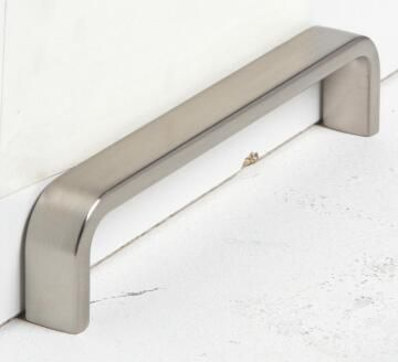Cabinet pull handle brushed nickel lena 128mm inspire