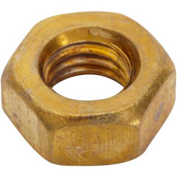 Brass hexagon nuts 6mm 15pc standers