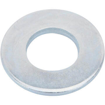 Flat washer medium middle zinc plated D10mm 14pc standers