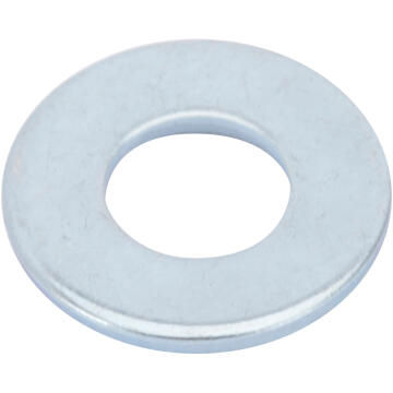 Flat washer medium middle zinc plated D6mm 26pc standers