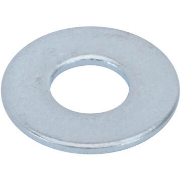 Flat washer medium middle zinc plated D4mm 60pc standers