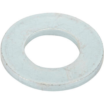 Flat washer narrow middle zinc plated D10mm 15pc standers
