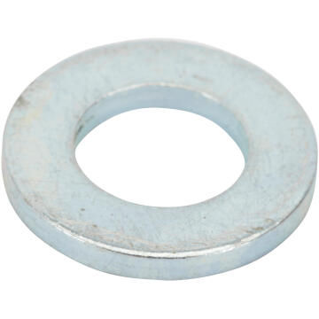 Flat washer narrow middle zinc plated D7mm 30pc standers