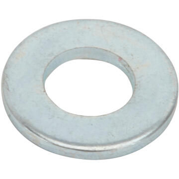 Flat washer narrow middle zinc plated D4mm 100pc standers