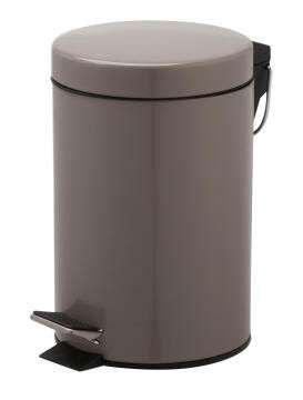 Dustbin Happy taupe 3L