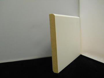 Skirting MDF Adjustable Prefinish White-16x150x2440mm