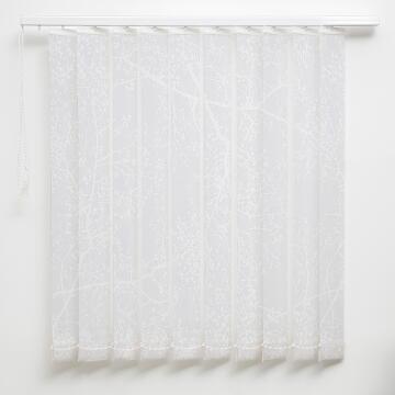 Vertical Blind Panel H260 Arbre White 89mm