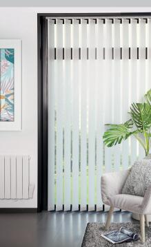 Vertical Blind Panel Kit LVO127 Pocket White 150x260cm