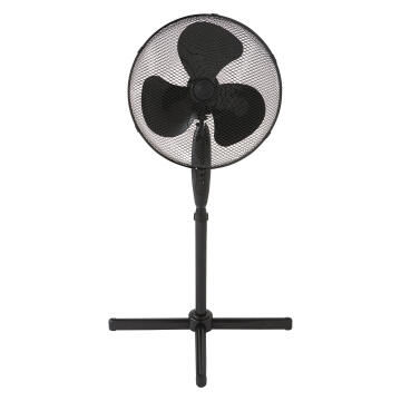 Pedestal fan EQUATION 40cm 45w black