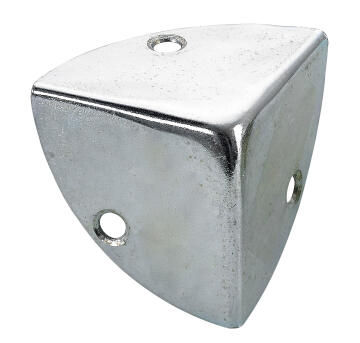 Box corners zinc-plated hettich