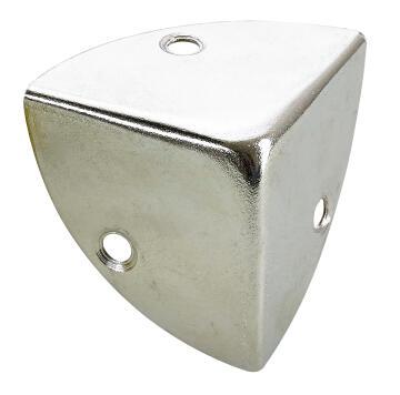 Box corners nickel-plated hettich