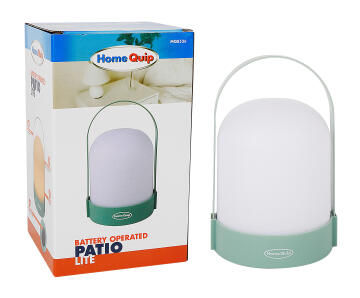 BATTERY OPERATED PATIO LITE