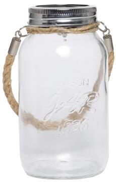 SOLARMATE SOLAR GLASS JAR CLEAR