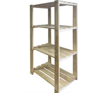Kit 4-Shelf Pine w600xh1200mm