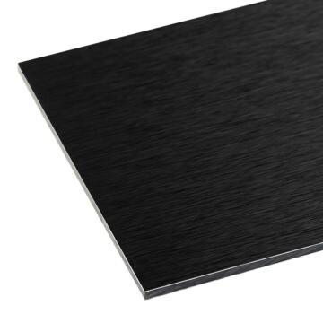 Aluminium Composite Panel (ACP) Black 3mm thick-1500x1000mm