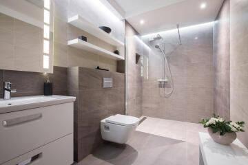 Shower tray to be tiled COMPACT LINE- ultra flat off-set waste - 120 x 90 cm