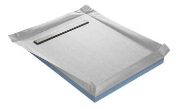 Shower tray to be tiled COMPACT LINE - ultra flat off-set waste - 150 x 100 cm