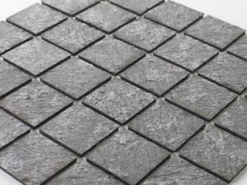 Mosaic natural stone - 5 x 5 cm -roll 100 x 50 cm - 925 Sea Stone