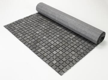 Mosaic natural stone - 2,5 x 2,5 cm -roll 100 x 50 cm - 925 Sea Stone