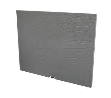 Tileable bath skirt kit - 90 x 60 cm with adjustable feet