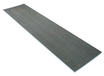 Tileable curved (lengthwise) board 250 x 60 cm - 3 cm thickness