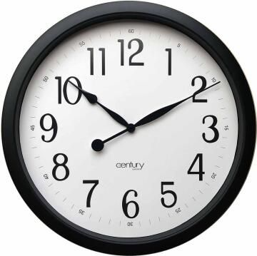 ANDY 55CM BLACK CLOCK