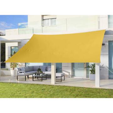 Shade Sail Hegoa 300 cm X 400 cm Yellow