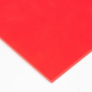 PVC Foam Board Red 3mm thick-2440x1220mm