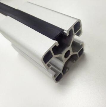 Slot Cover T-shape Black for Aluminium profile-2000mm