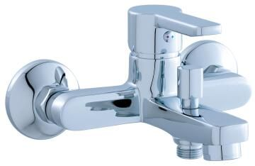 Bath mixer Buton chrome SENSEA sedal 35mm