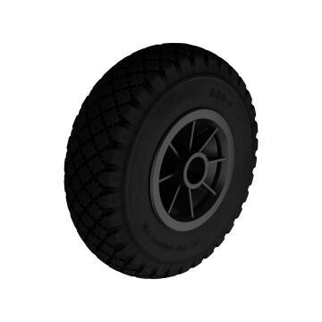 Caster wheel outdoor STANDERS black 260mm