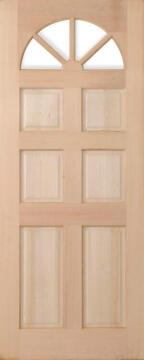 Exterior Door Hardwood Carolina-w813xh2032mm