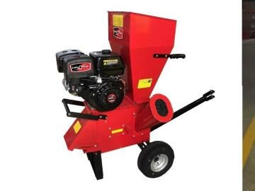 Petrol Garden Shredder,398cc,76mm Chipping Capacity