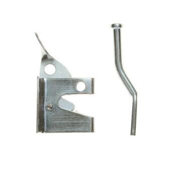 Gate latch galvanised 127mm L&B security