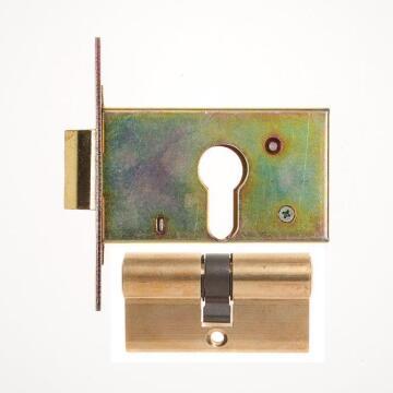 Latch lock cylinder gladiator type L&B security