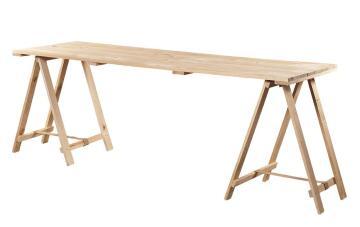 Kit Desk Pine Table Top & Trestle-l1800xw750mm