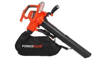Blower, Garden Blower/ Vacuum, Battery, POWERPLUS, 40V, Excludes Battery