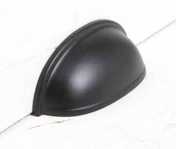 CUP PULL STEEL INSPR 64MM BLACK MATTE