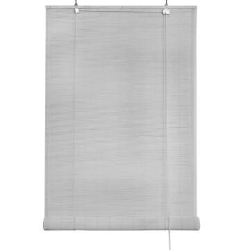 Outdoor Roll Up Blind INSPIRE Bamboo White 120x300cm