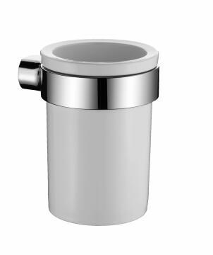 Toilet Brush Holder ceramic SENSEA white