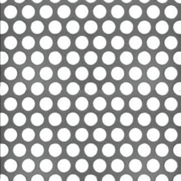 Metal sheet round punched steel 1000x500mm arcansas