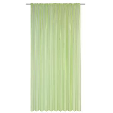 Voile Curtain New Atria Green 140x260cm