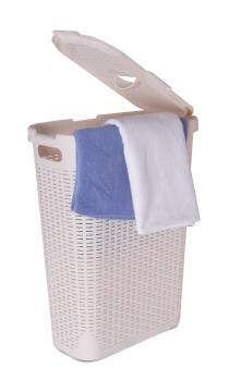 Laundry Basket SENSEA cottage white ivory5