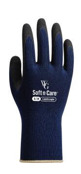 Gloves, Garden Gloves, Navy, TOPLINE, Nr8 Medium