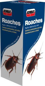 Roaches, Cockroach Control, KOMBAT, 100ml