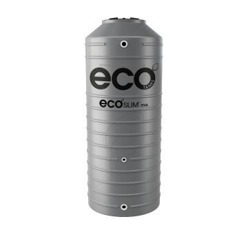 Tank, Water Tank, Dark Grey, ECO TANKS, 950 liter, Ecoslim