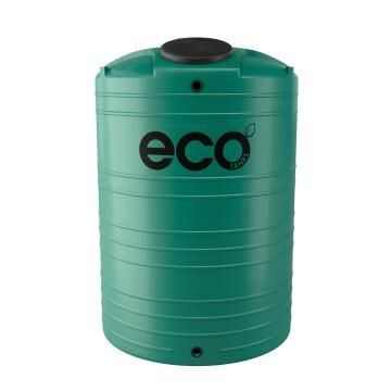 Tank, Water Tank, Green, ECO TANKS, 2500 liter